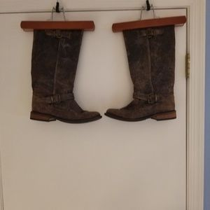 Ladies Steve Madden Distressed Boots